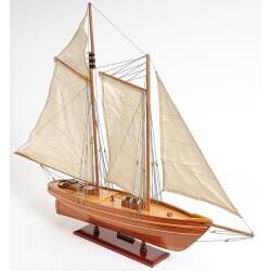 Old Modern Handicrafts 'America Yacht' Model Boat