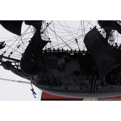 Old Modern Handicrafts 'Black Pearl' Pirate Ship Model