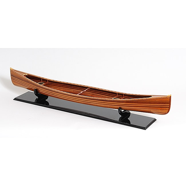 Old Modern Handicrafts Canoe Model