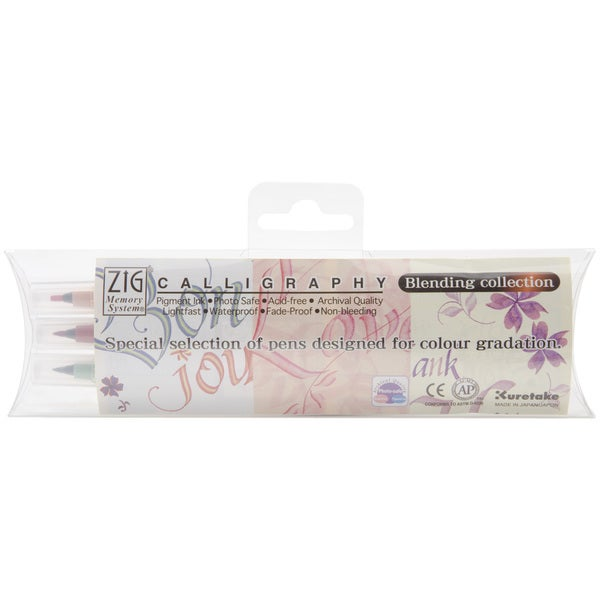Zig Memory System Nostalgia Calligraphy Blending Collection (Pack of 3)