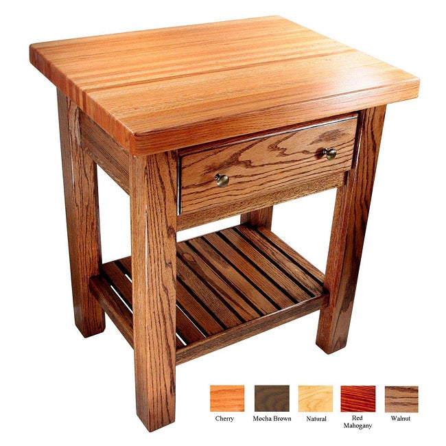 Bradley Brand Furniture Saline Creek Kitchen Island - Thumbnail 0