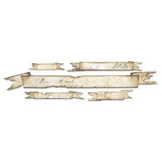 Sizzix Tattered Banners Sizzlits Decorative Strip Die