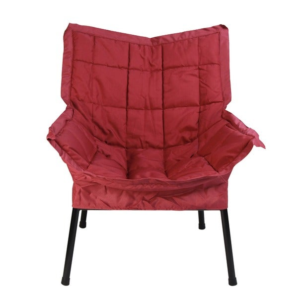 Milano Modern Metal Chair   Free Shipping Today   Overstock.com   13831328