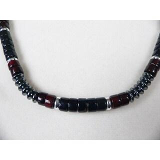 Point Break' Men's 18 - 19-inch Gemstone Necklace