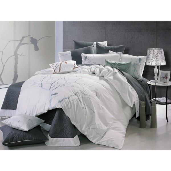 Bird Call Queen-size 3-piece Comforter Set