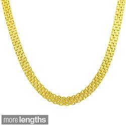 Fremada 14k Yellow Gold Bizmark Chain (16-20 inch)