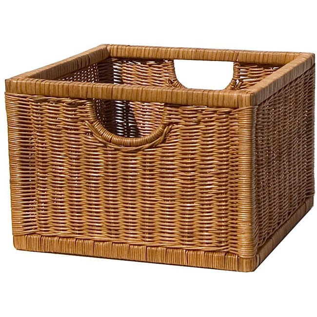 Wicker Storage Crate