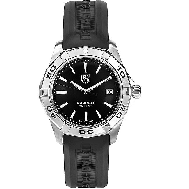Tag Heuer Men's WAP1110.FT6029 Aquaracer Watch