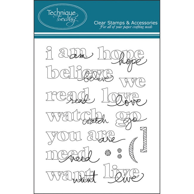 Technique Tuesday 'Perspectives' Clear Stamps