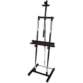 Avanti II Black Heavy Duty Steel Double Post Artist Easel