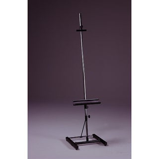 Avanti I Black Heavy Duty Steel Single Square Post Artist Easel