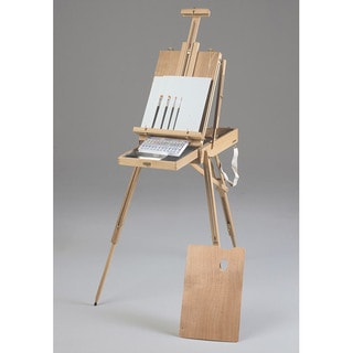 Portable Rivera Sketch Box Wooden Easel Acrylic Painting Kit
