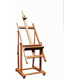 Weber Monster Amalfi Brown Wooden Adjustable Studio Artist Easel