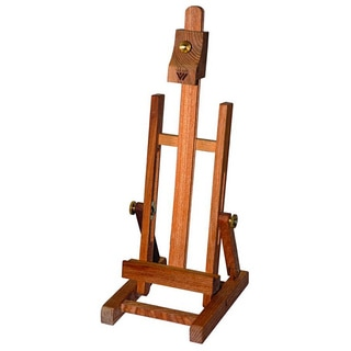 Avanti Mini Display Brown Hand-finished Wood Table-top Easel
