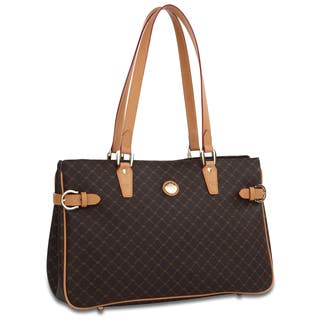 Rioni Signature Buckled Tote https://ak1.ostkcdn.com/images/products/6179636/P13832523.jpg?impolicy=medium