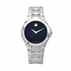 Movado Men's 0606378 Luno Stainless Steel Watch - Thumbnail 0