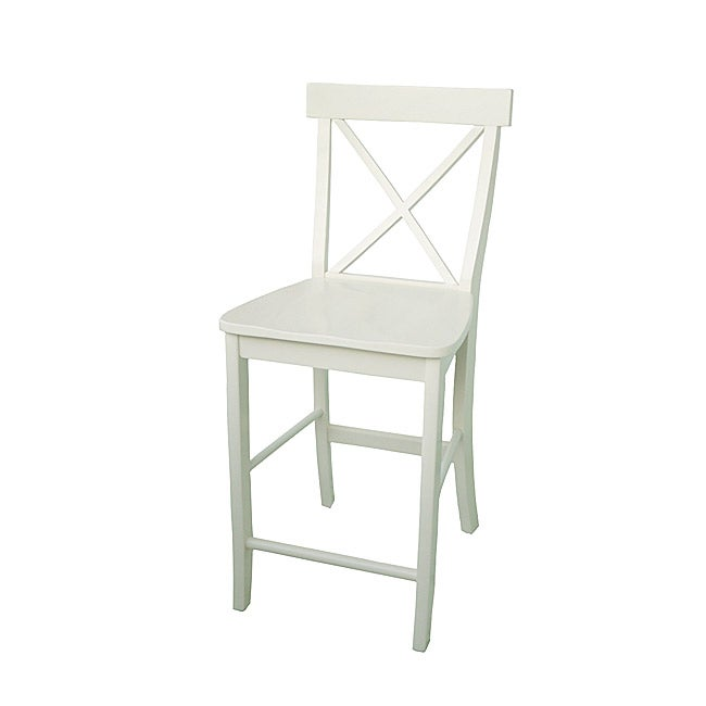 X back Off White Counter Stool Free Shipping Today  : X back Off White Counter Stool L13832563 from www.overstock.com size 650 x 650 jpeg 11kB