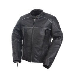 Mossi Women's Journey Leather Jacket (As Is Item)