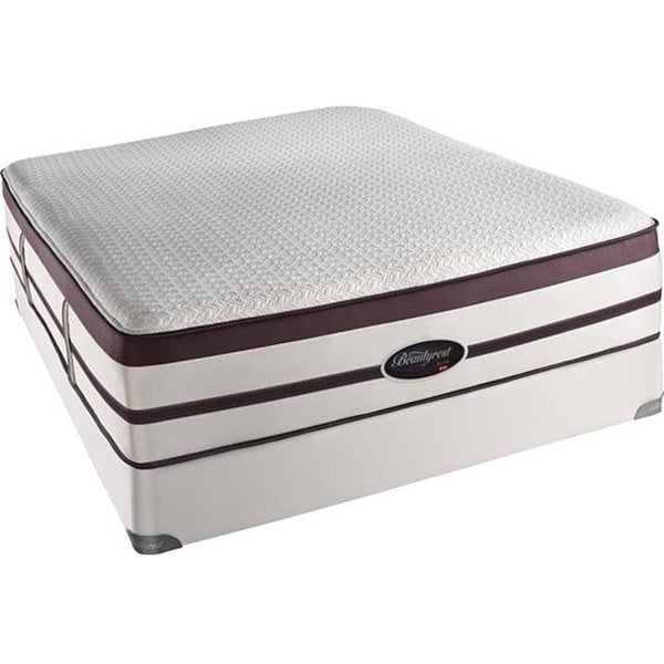 Beautyrest Elite Scott Plush Evenloft King-size Mattress Set