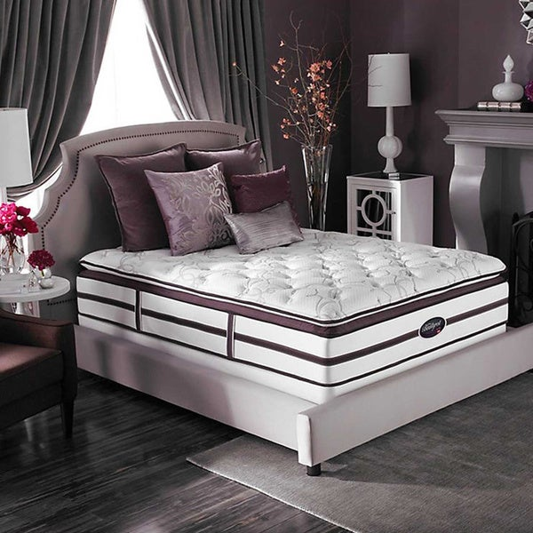 Beautyrest Elite Plato Plush Super Pillow Top Queen-size Mattress Set