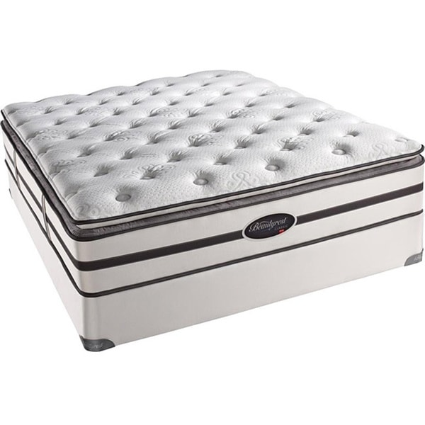 Beautyrest Classic Porter Plush Firm Pillow Top King-size Mattress Set