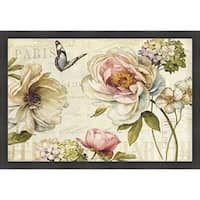 Lisa Audit 'Marche de Fleur IV' Framed Print