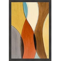Lanie Loreth 'Summer Coalescence I' Framed Print Art