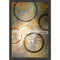 Michael Marcon 'Connections I' Framed Print Art