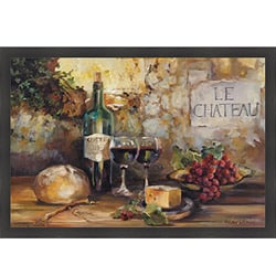 Marilyn Hageman 'Le Chateau' Framed Print Art