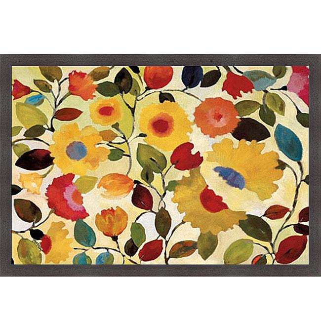 Kim Parker 'Siena Garden' Framed Print Art