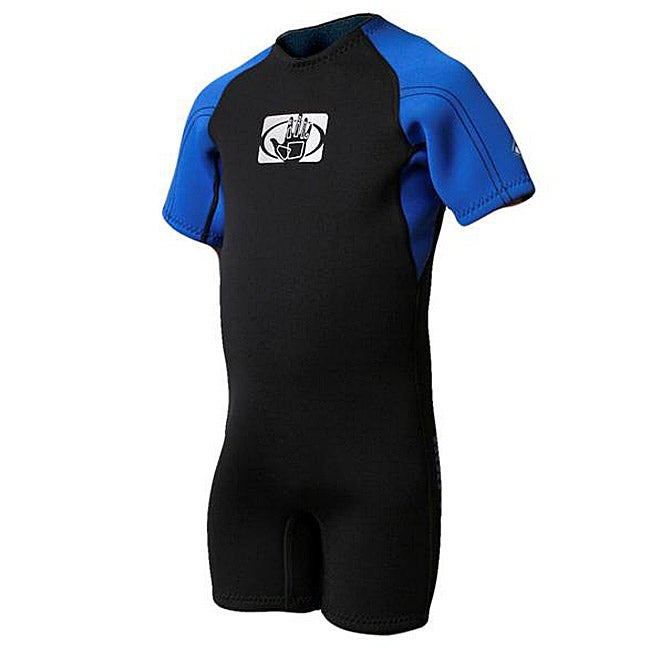 Body Glove Children's Pro 2 Black/ Royal Spring Wetsuit