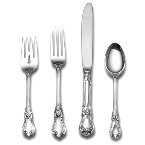 Towle Old Master Sterling Silver 4-pc Flatware Set
