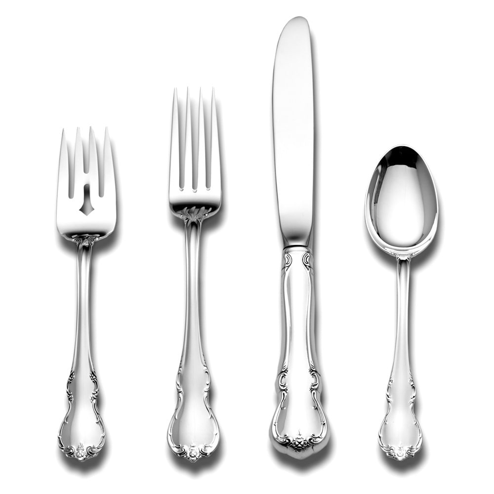 TOWLE French Provincial Sterling Silver 4-Piece Flatware ...