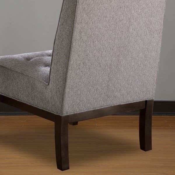 Pleasant Shop Madelyn Smoke Accent Chair Free Shipping Today Machost Co Dining Chair Design Ideas Machostcouk