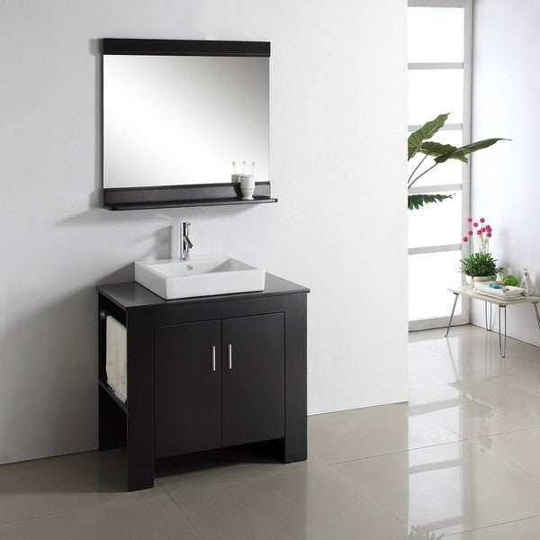Jeffrey 36-inch Single-sink Bathroom Vanity Set