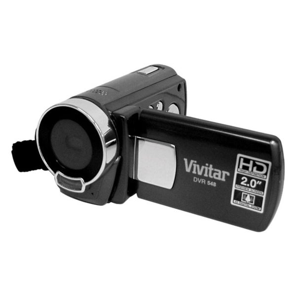 """Sakar DVR548HD-BLACK Digital Camcorder - 2.4"""" LCD - CMOS - Full HD -"""