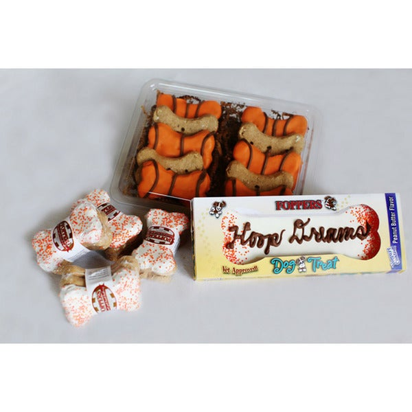 Foppers 'Hoop Dreams' 23-piece Basketball Dog Treat Gift Set