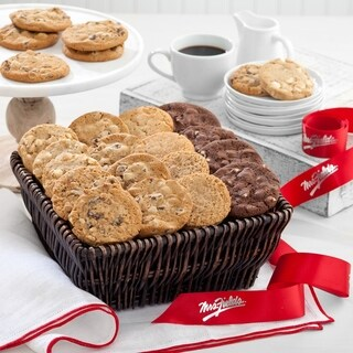 Link to Mrs. Fields Cookie Basket (24 count) Similar Items in Gourmet Food Baskets
