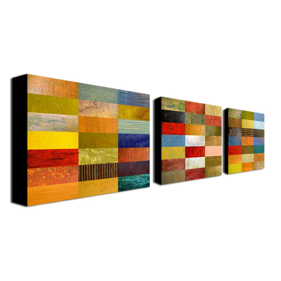 Michelle Calkins 'Eye Candy' Canvas Art Set