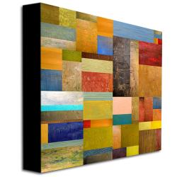 Michelle Callkins 'Pieces Project III' Canvas Art - Thumbnail 1