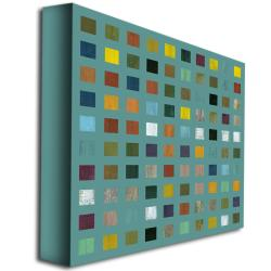 Michelle Callkins 'Rustic Wooden Abstract VI' Canvas Art - Thumbnail 1