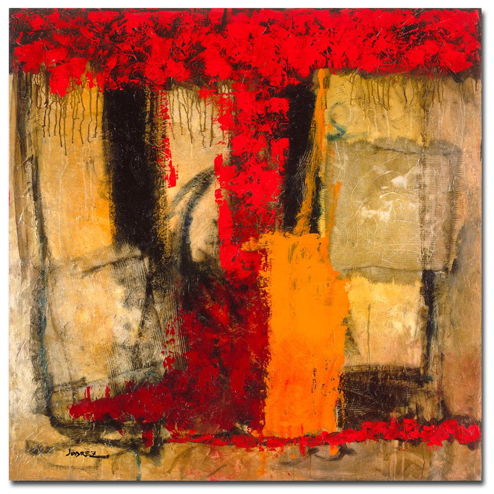 Joarez 'Victory IV' Abstract Canvas Art