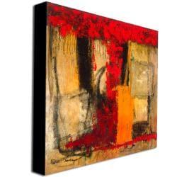 Joarez 'Victory IV' Abstract Canvas Art - Thumbnail 1