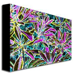 Kathie McCurdy 'Tropical Neon' Canvas Art - Thumbnail 1