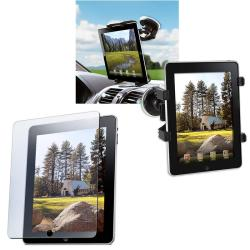 INSTEN Windshield Mounted Holder/ Screen Protector for Apple iPad