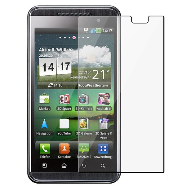 Screen Protector for LG P920 Thrill 4G (Pack of 2)