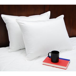Splendorest Luxury Down Alternative Standard-size Pillows (Set of 2) - White