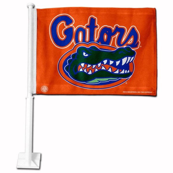 Florida Gators 19-inch Car Flag