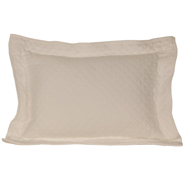 Diamante Ivory Boudior Pillow