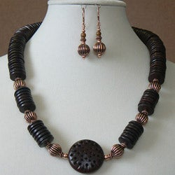 Moroccan Dance' Earring and Necklace set